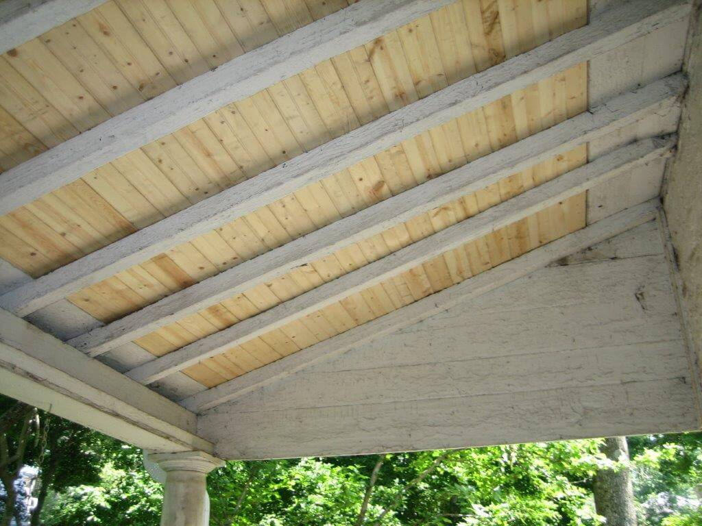Carpentry Porch Ceiling